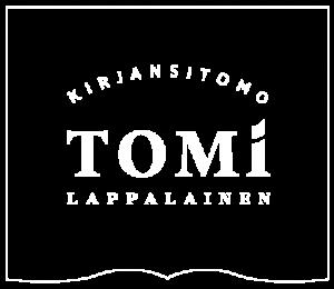 Kirjansitomo Tomi Lappalaisen logo